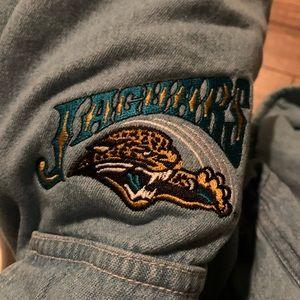 Denim Jacksonville Jaguars Cozy Button Up